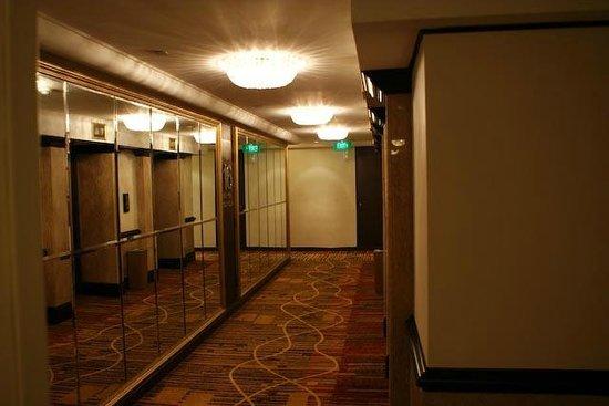 Peninsula Excelsior Hotel: коридор