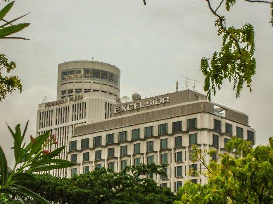 Peninsula Excelsior Hotel: вид на отель