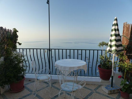 Pensione Maria Luisa - Amalfi Coast : The balcony