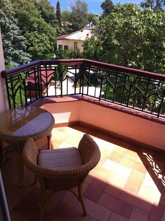 Alye Parusa Hotel: на балконе