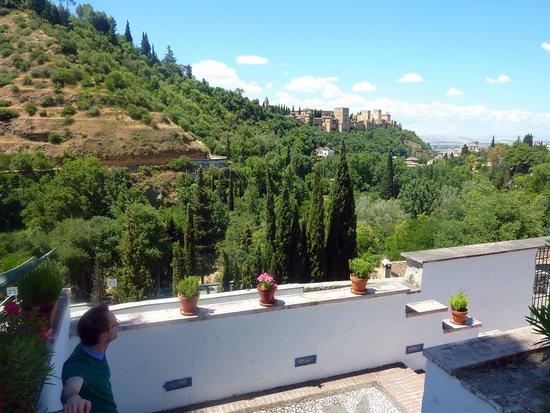 Vista desde Museo de las Cuevas del SACROMONTE
