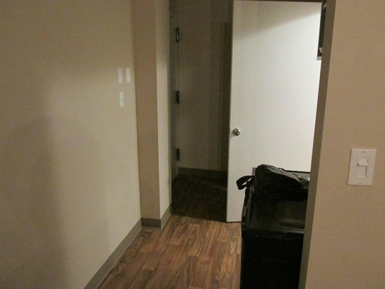 Verve Hotel, An Ascend Collection: Entrance hallway with Fridge and Stove