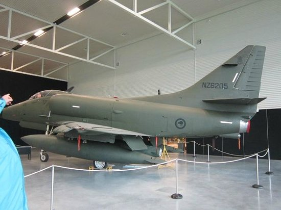 Air Force Museum : Jets used by NZRAF