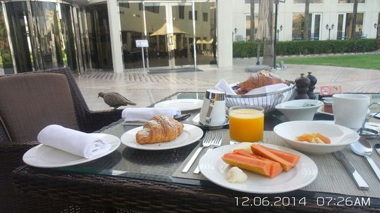 Le Meridien Dubai Hotel & Conference Centre: Breakfast!!! Super food