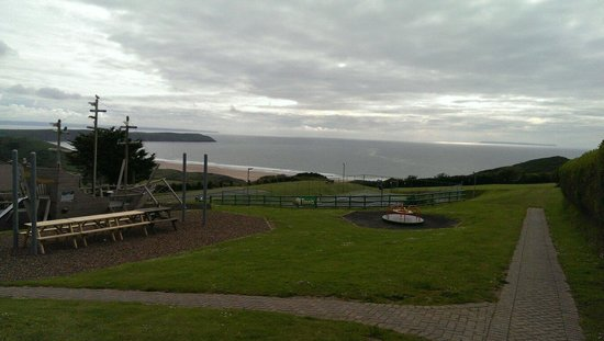 View from children's play area
