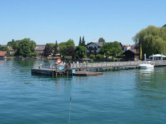 Lake Attersee: Weyregg pier