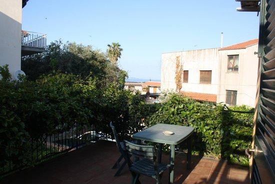 B&B Stella Marina: Panorama dalla camera