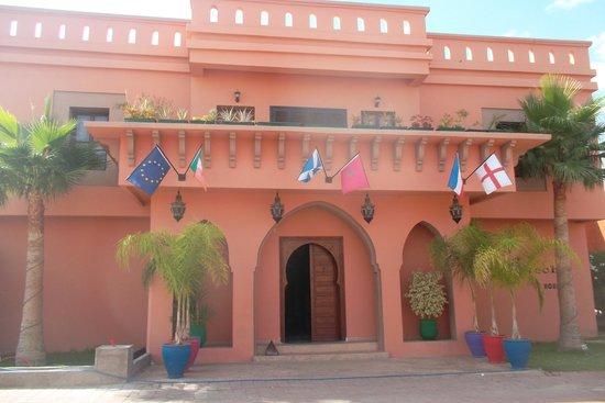 Albakech House : L entrée