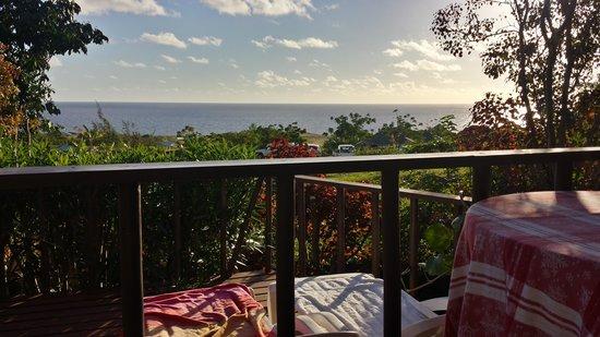 Cabanas Mana Ora : Vista de la cabaña