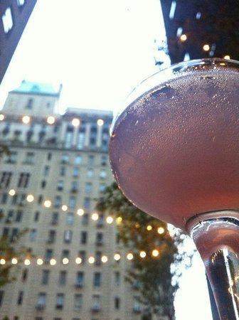 Hudson Hotel New York: Questo si che e' bere un Cosmopolitan... ;-)