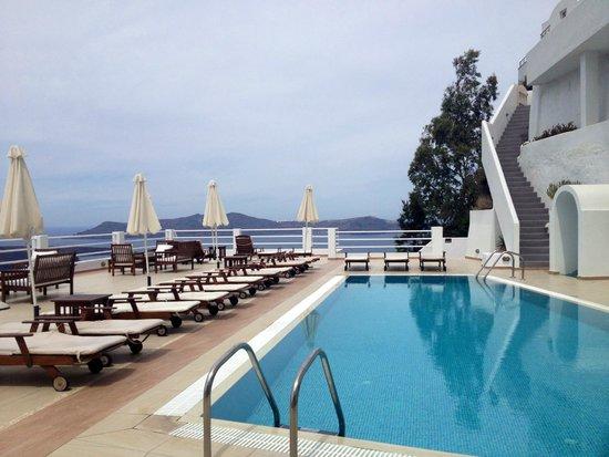 Tzekos Villas: Gorgeous pool area
