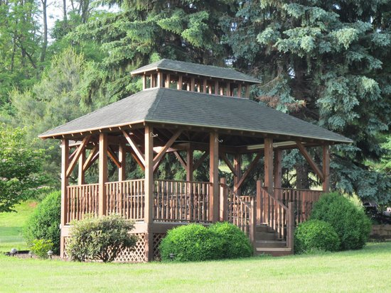 Vineyard Bed and Breakfast : The Gazebo