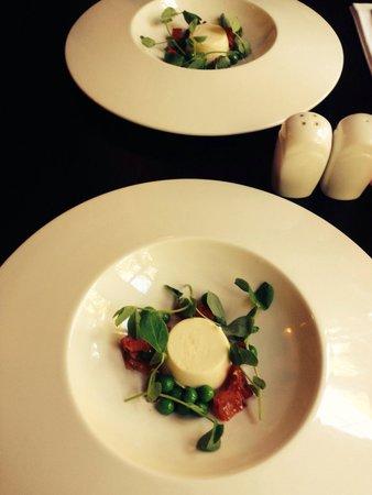 The Old Bell Inn: Chefs taster excellent