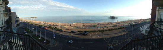 The Grand Brighton: View from the room balcony