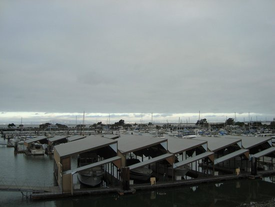 The Marina Inn on San Francisco Bay: View from room