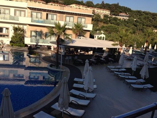 The Lesante Luxury Hotel & Spa: view from balcony - room 545