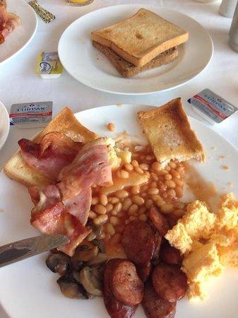 The Lesante Luxury Hotel & Spa: a very english breakfast!