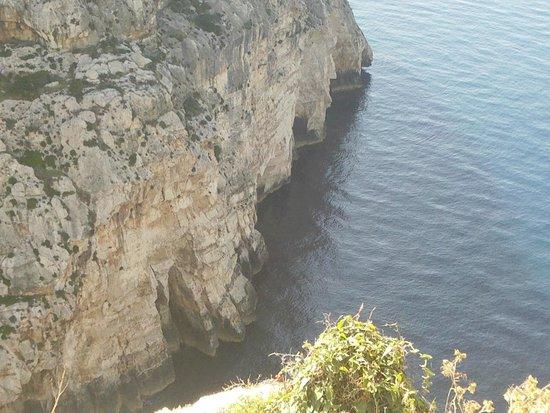 Blue Grotto (Il-Hnejja) : Desde el mirador superior