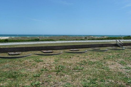Fort Macon State Park: View from on top of the fort