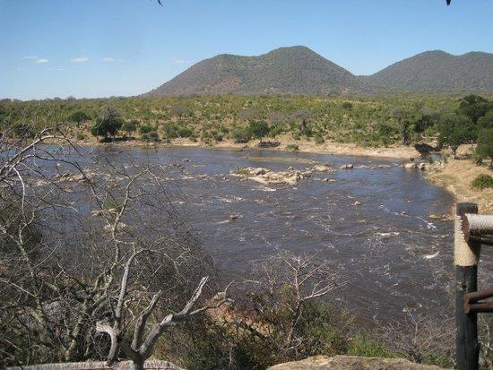 Ruaha River Lodge: The Ruaha river