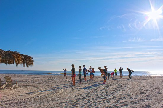 Ponte Vedra Inn & Club: Beach Boot Camp