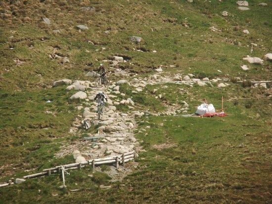 Nevis Range Mountain Experience: Down hill !