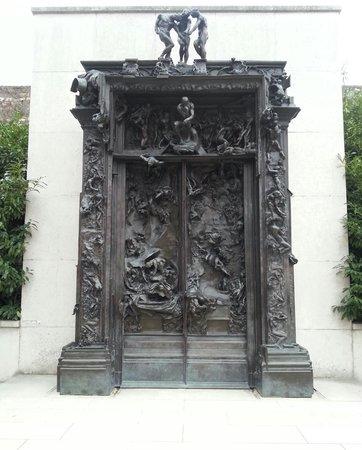 Musée Rodin : cehennemin kapısı