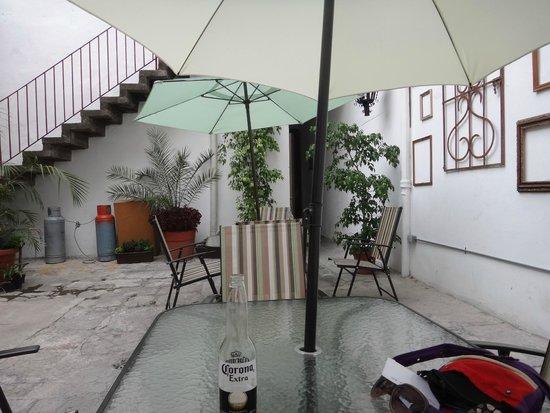 Hostal Santo Domingo: Patio trasero