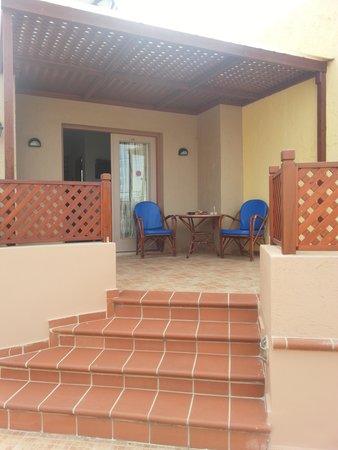 Latania: our room