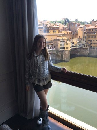 Portrait Firenze: The View of the Ponte Vecchio