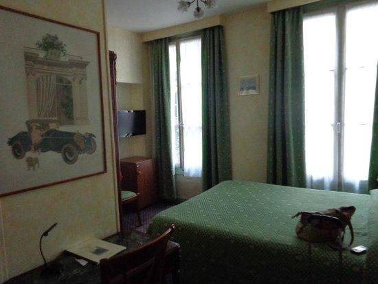 Hotel Prince Albert Louvre : Double, 3d floor
