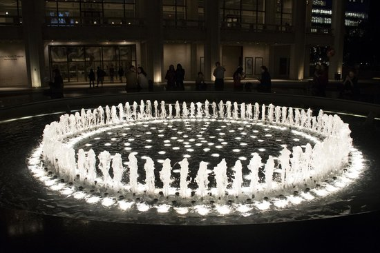 Art of Intuitive Photography: The fountain at Lincoln Center; taken a half hour into the course - thank you Mindy