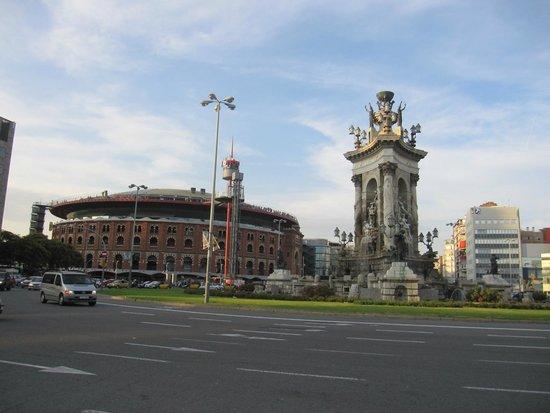 Placa Espanya : Vistas de la plaza