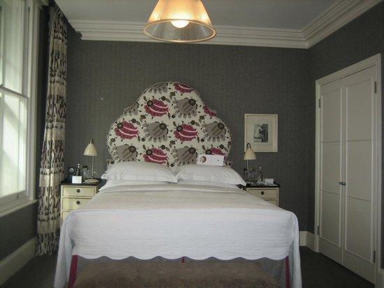 Haymarket Hotel : Lit queen size