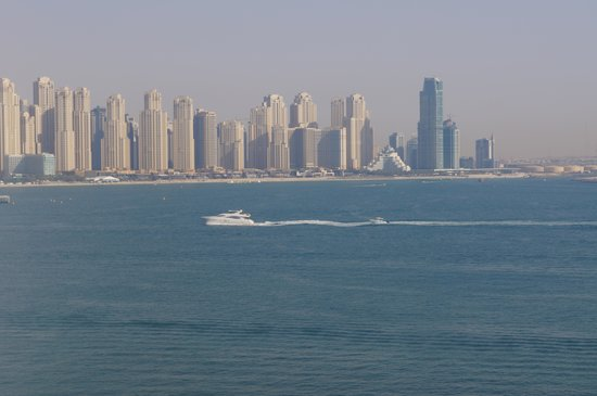 Jumeirah Zabeel Saray: View from room 532 (sea view room)