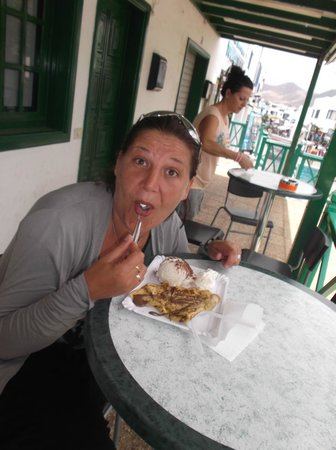 Gelateria Italiana Verderosa : Glaces , crépes  un vrai délice !!!