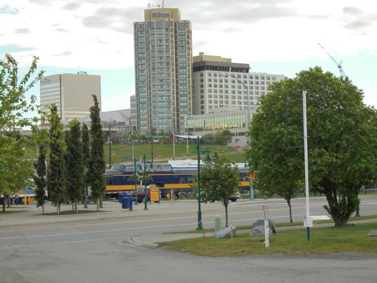 Hilton Anchorage: Excellent location downtown Anchorage