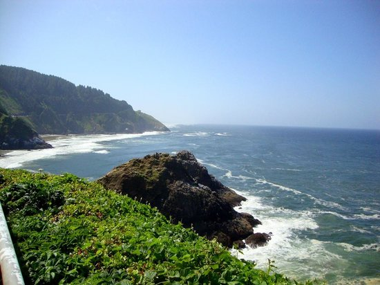 Heceta Head Lighthouse: One view from the top