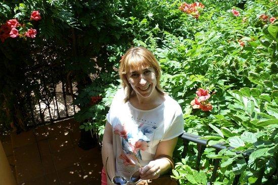 Hotel Donana Blues : jardin