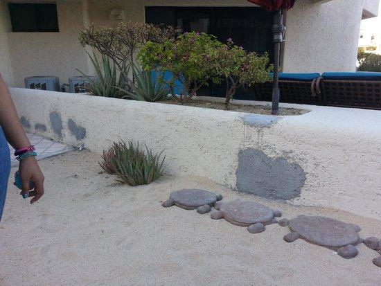 Terrasol Beach Resorts: outside of balcony 2