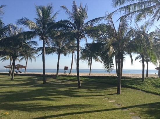 Ana Mandara Hue Beach Resort: view from our beach villa