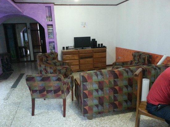 Hotel Kaps Place : SALA DE CINE