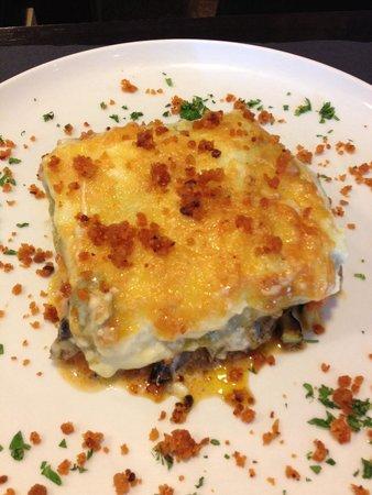 Restaurante People: Lasanha de Legumes