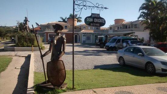 Hotel Don Quijote : Frente do hotel