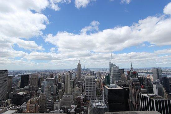 Rockefeller Center: The view