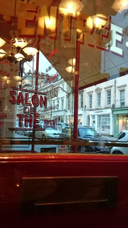 Cafe Rouge - Bath: Clean windows