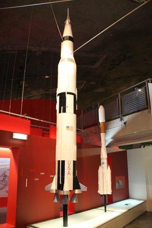 La Coupole : fusées