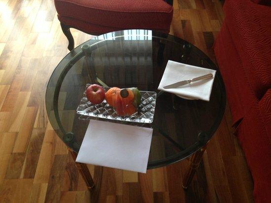 Victoria Jungfrau Grand Hotel & Spa: Комплимент