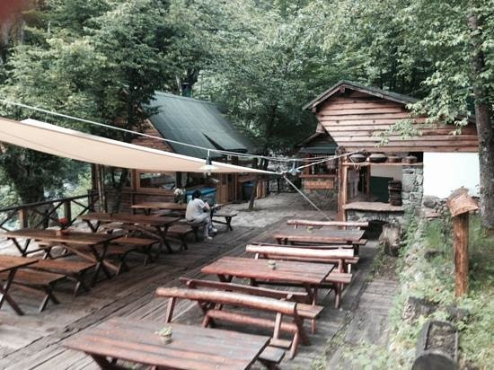 Camp Grab: Restaurationsbereich