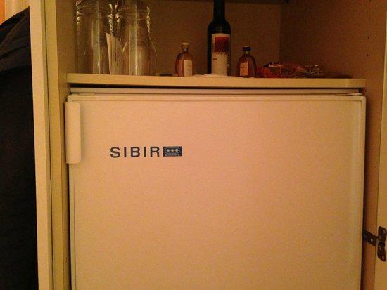 "Victoria Jungfrau Grand Hotel & Spa: Холодильник ""Сибирь"", трехзвездный"